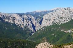 gorroppu каньона Стоковая Фотография RF
