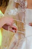 gorsetowy ślub Zdjęcia Royalty Free