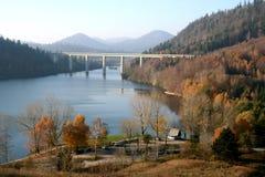gorski kotar湖 库存图片