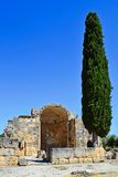 Gortyn in Crete,  Greece. Royalty Free Stock Image