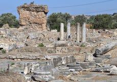 Gortyna antiguo en la isla de Crete foto de archivo