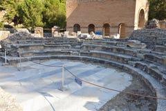 Gortyna antiguo en la isla de Crete, Grecia imagen de archivo libre de regalías