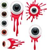 Gory Eyes Set Images stock