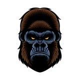 Goryl głowa ilustracji