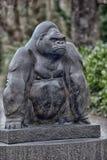Goryl rzeźba Zdjęcia Royalty Free