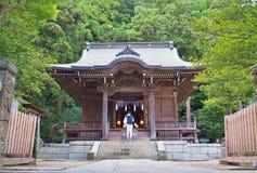 Goryo-jinja świątynia w Kamakura, prefektura kanagawa, Japonia Zdjęcia Stock