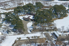 Goryokaku στο Hakodate, Hokkaido Στοκ Εικόνες
