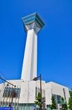 Goryokaku Tower in the Goryokaku Park, Hakodate, Hokkaido, Japan Stock Images