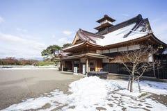 Goryokaku tower Hakodate. Royalty Free Stock Photos
