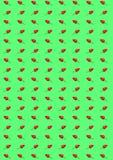 Gorzka chili papryka na zielonym tle i pieprz Obrazy Stock