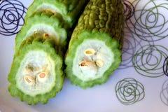 Gorzki melon lub gorzka gurda Fotografia Royalty Free