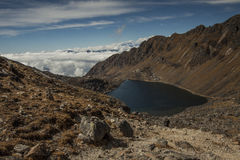 Gosainkund lake langtang region nepal Stock Photography