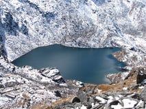 gosainkund piękny jezioro Zdjęcie Royalty Free