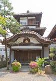 Gosangai Turret of Aizu-Wakamatsu Castle in Amida-ji Temple, Jap Stock Photography
