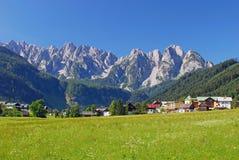 Gosau, Alpen, Oostenrijk Royalty-vrije Stock Foto's
