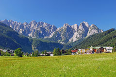 Gosau,Alps,Austria Royalty Free Stock Photos