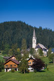 Gosau, Austria. Gosau, beautiful town in Salzkammergut region, Austria Stock Image
