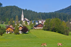 Gosau, Austria. Gosau, beautiful town in Salzkammergut region, Austria Stock Photography