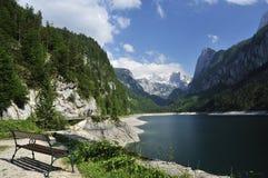 Gosau Mountain Lake. The idyllic scenery at Gosau mountain lake in Austria Royalty Free Stock Photography