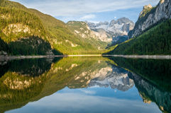 Gosausee, Áustria Foto de Stock