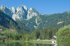 Gosausee,Dachstein Mountains,Austria Stock Photos