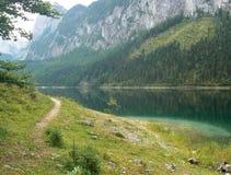 Gosausee em Áustria Imagens de Stock Royalty Free