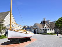 Gosmans of Montauk Long Island New York stock images