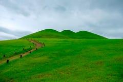 Goseong oude graven, Zuid-Korea royalty-vrije stock afbeeldingen
