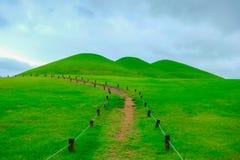 Goseong oude graven, Zuid-Korea stock foto