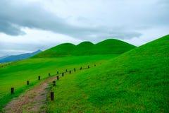 Goseong oude graven, Zuid-Korea stock foto's