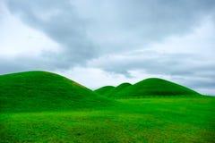 Goseong oude graven, Zuid-Korea stock fotografie