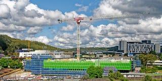 Gosford hospital edificio progreso H65ed noviembre de 2018 imagen de archivo