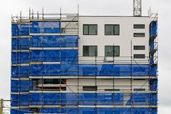 Building progress update 186. At 47 Beane St. Gosford. February 2019 stock images