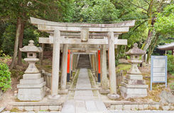 Gosha Jojukyu Shinto Shrine in Tofuku-ji Temple of Kyoto, Japan Stock Photos