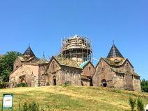 Goshavank修道院,亚美尼亚 免版税库存照片