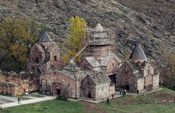 Goshavank修道院 库存图片