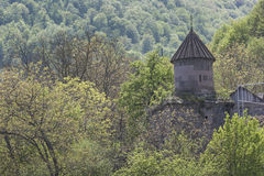 GOSHAVANK,亚美尼亚- 2016年5月02日:Goshavank修道院是foun 库存照片
