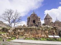 Goshavank Monastery Stock Photo