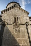 Goshavank Monastery was founded in 1188. It is located about 20 Royalty Free Stock Photo