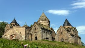 Goshavank Monastery in Armenia. Stock Photography