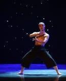 Goshawk-A tree in love-Modern dance Stock Images