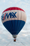 GOSHEN ORIENTALE, PA - 21 GIUGNO: Il pallone di Remax che galleggia al giorno orientale di Goshen il 21 giugno 2014 Immagini Stock Libere da Diritti
