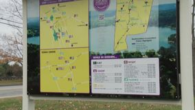 Goshen Visitor Info stock video