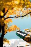 Goshiki-numa Urabandai Fukushima Autumn Japan Royalty Free Stock Photography