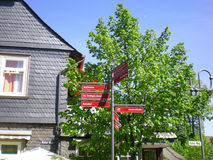 Goslar, Alemania imagenes de archivo