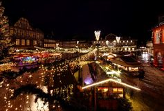 Goslar christmas market Royalty Free Stock Photo