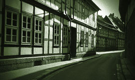 Goslar, Germania - retro Fotografia Stock