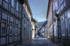 Goslar, Germany. The city, the nature of Germany, travel to Germany, a city of half-timbered houses Stock Image