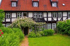 Goslar half timbered house Stock Photography