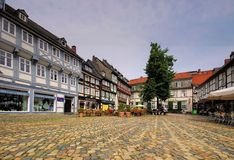 Goslar square Royalty Free Stock Image